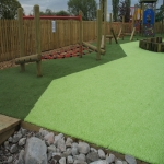 Rubber Mulch in Playgrounds in Rutland 4