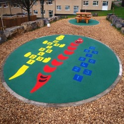 Children's Play Area Surface in Ashover 9