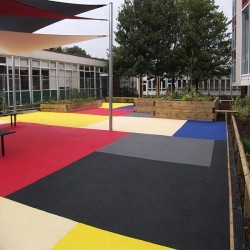 Rubber EPDM Flooring in Hampshire 6