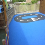 Outdoor Flooring for Playgrounds in Aberbechan 1