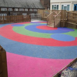 Children's Play Area Surface in Altmover 7