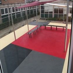 Playground Surface Flooring in Anslow Gate 1