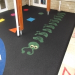 Playground Surface Flooring in Abercregan 3