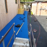 Rubber EPDM Flooring in Berkshire 1