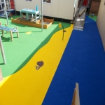 Children's Play Area Surface in Abbey 9