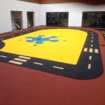 Playground Surface Flooring in Amport 6