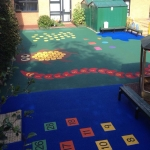 Children's Play Area Surface in Alt Hill 12