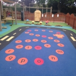 Rubber Mulch in Playgrounds in Rutland 2