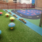 Children's Play Area Surface in Ashover 5