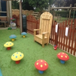 Children's Play Area Surface in Ashover 11