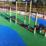 Children's Play Area Surface in Abbots Morton 8