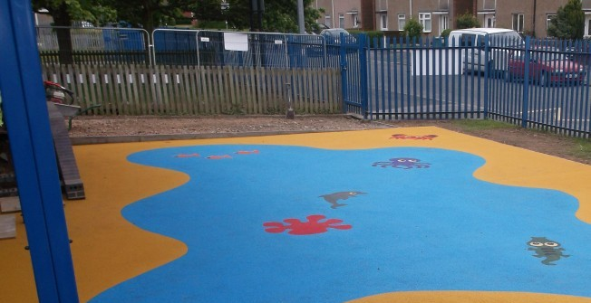 Outdoor Play Surfaces in Aberbechan