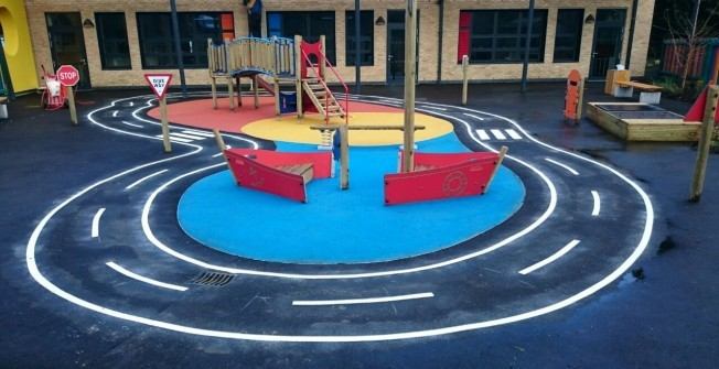 Play Area Contractor in Aber-Gi