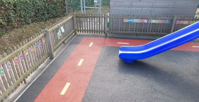 Children's Play Flooring in Abertrinant