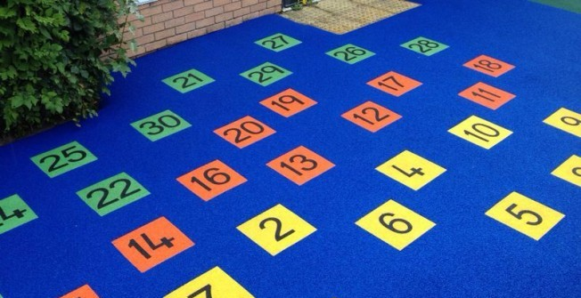 Kids' Wetpour Flooring in Ashover