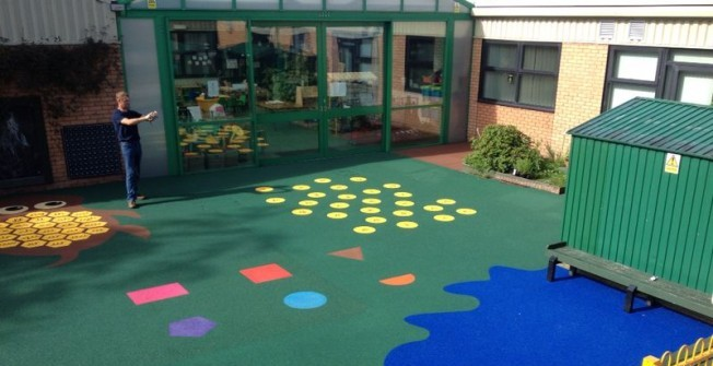 Play Surface Installers in Aber-Gi